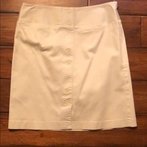 Ann Taylor Loft cute 98% cotton skirt